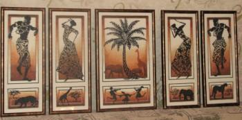 Вышивка крестом африканские истории золотое руно 10